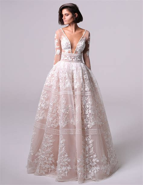 Meidina Dress michal medina bridal wedding dress collection fall 2018