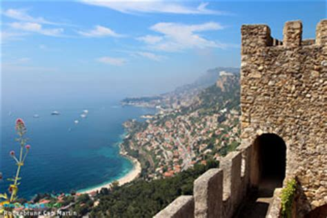 roquebrune cap martin seaside resort on the french