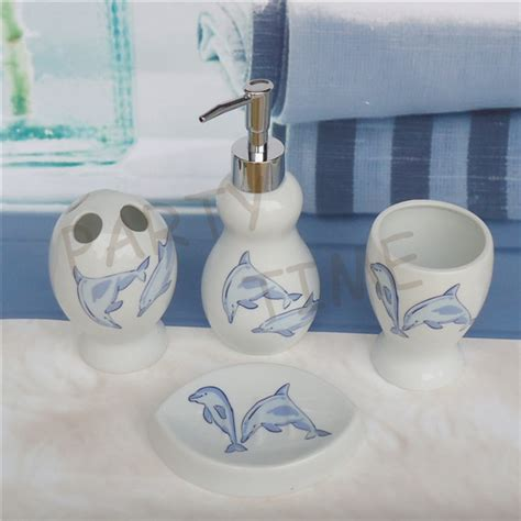 Dolphin Bathroom Decor by Dolphin Bathroom Accessories 28 Images Modona Four Bathroom Accessories Set Dolphin New Ebay