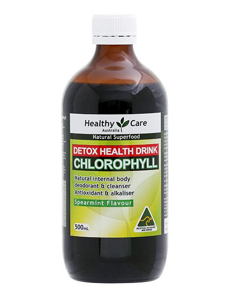 How Does Chlorophyll Help Detox Your by Nước Diệp Lục Healthy Care Liquid Chlorophyll Detox Loại