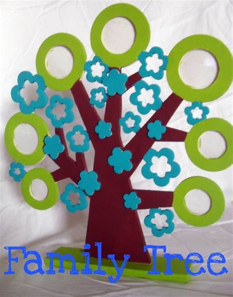 family craft projects family tree craft template ideas family net