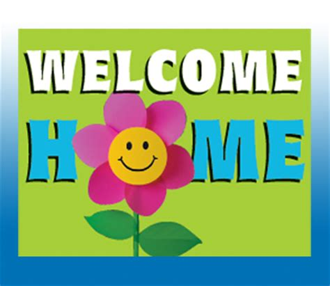 now pleasing welcome home sign welcome home america