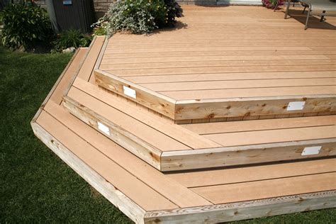 Wrap Around Deck Plans Taking The Stairs The Deck Stairs That Is Hickory