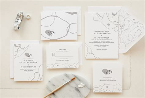 desain undangan pernikahan full color wedding invitation trends for 2017