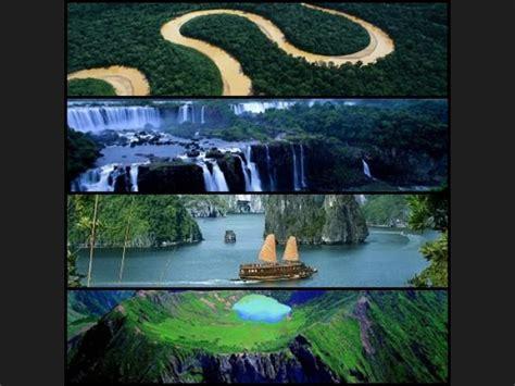 imagenes de bellezas naturales del mundo ranking de siete maravillas naturales del mundo listas