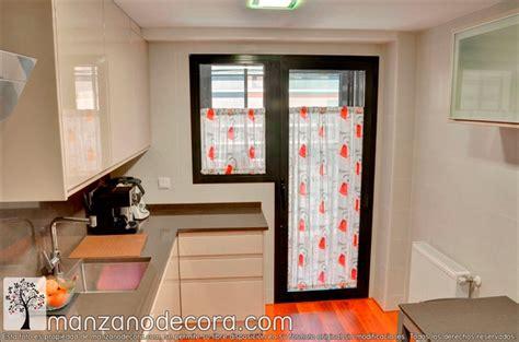que cortinas poner en la cocina