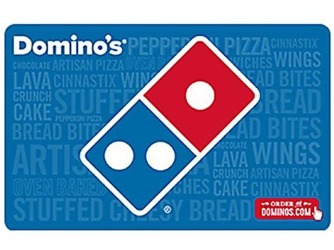 Computer Gift Cards - domino s pizza 35 gift card email delivery newegg com