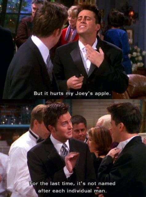 Joey Friends Meme - joeys apple funny friends scene