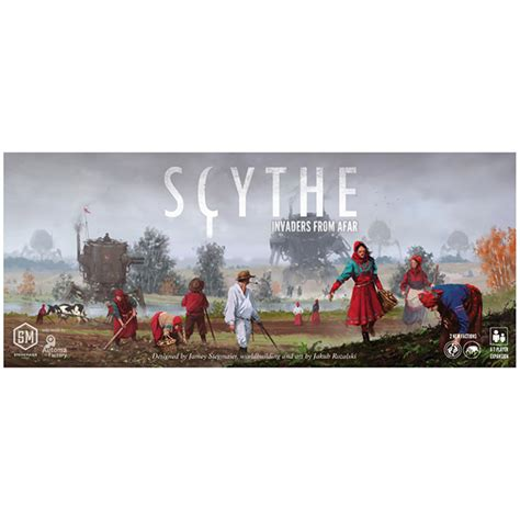Tiny Epic Quest Box Organiser Insert scythe invaders from afar team board