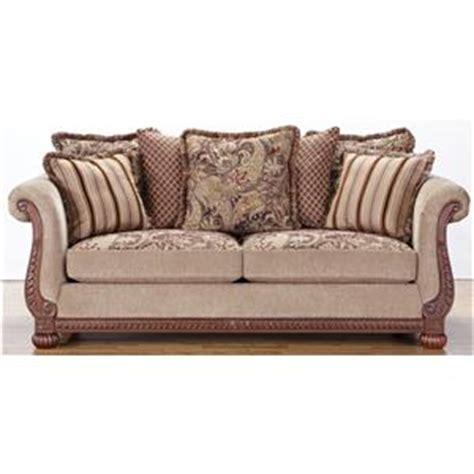 hm richards  traditional rolled arm sofa  decorative wood trim bigfurniturewebsite sofa