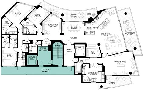 luxury penthouse floor plans luxury penthouses in ta for sale the virage condos on