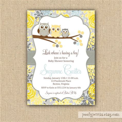 printable owl boy baby shower invitations owl baby shower invitations diy printable baby boy