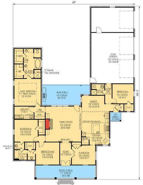 main floor plan louisiana nottoway plans pinterest louisiana charm 56338sm architectural designs house