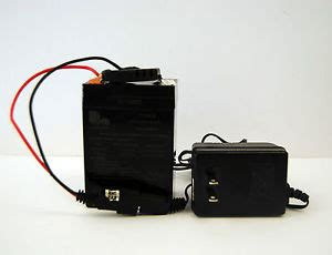 6 volt 4.5 ah 20hr rechargeable battery 3fm4.5 and charger