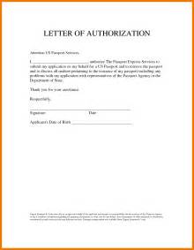 Authorization Letter Email 5 Authorization Letter To Act On My Behalf Mailroom Clerk
