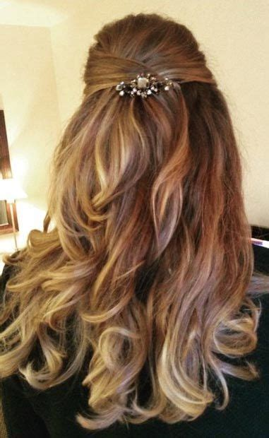 half up half down dance hairstyles 20 best images about wedding hairstyles on pinterest
