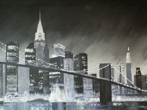 Painting In Nyc by New York Wall Painting
