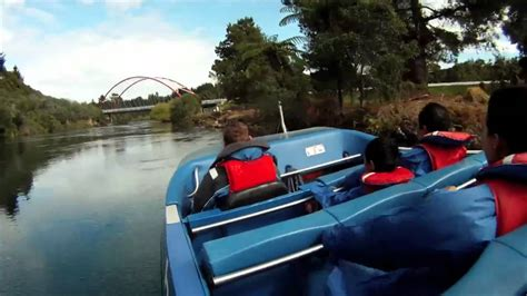 speed boat nz hukafalls jet speedboat lake taupo new zealand gopro
