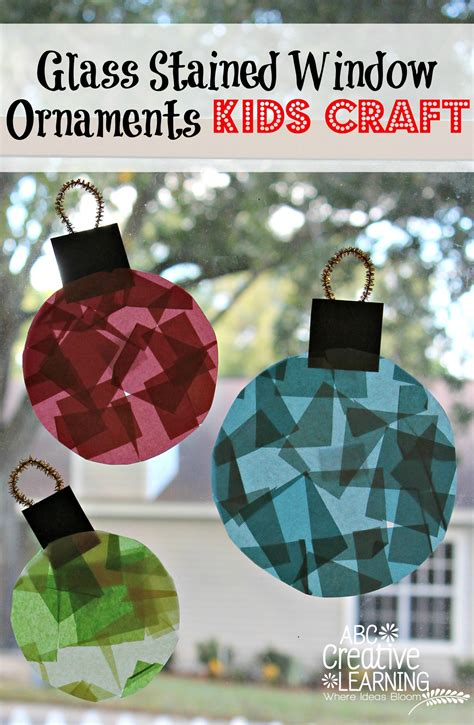 glass balls crafts glass stained window ornaments craft ornament