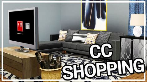 sims 3 custom content shopping 8 home decor haul