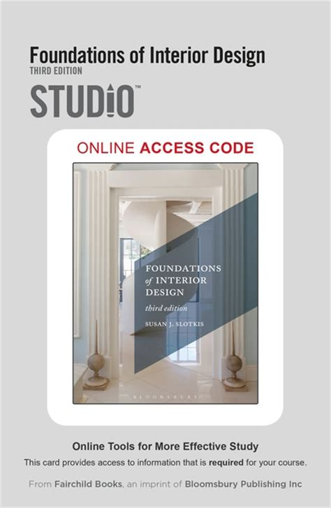 foundations of interior design foundations of interior design studio access card susan