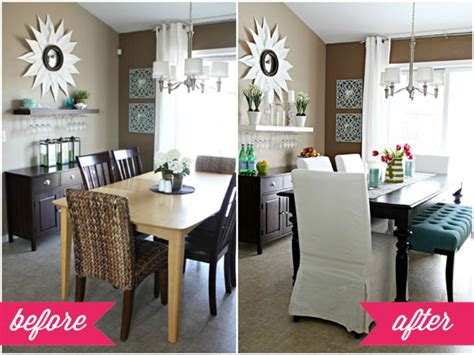 Kitchen And Dining Room Combination Makeovers by Iheart Organizing Our Dining Table Deets