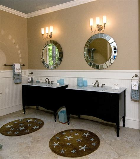 how high should wainscoting be in a bathroom what height to put beadboard wainscoting
