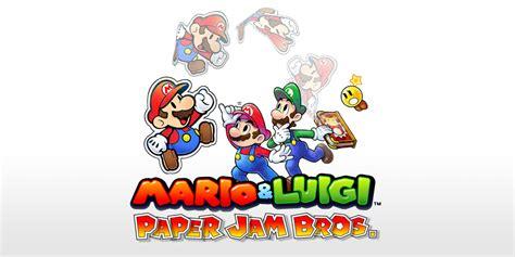 Kaset 3ds Mario Luigi Paper Jam mario luigi paper jam review 3ds hey poor player