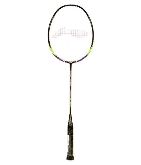 Raket Badminton Lining Turbo X 90 li ning turbo x 90 badminton racket black buy at
