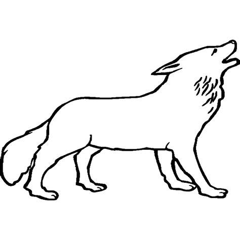 Dibujos Para Colorear Dibujos De Lobos Para Imprimir