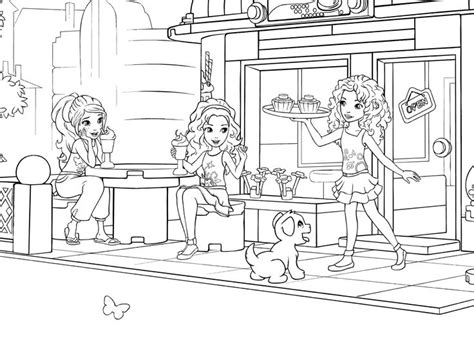 lego friends jungle coloring pages lego friends coloring pages az coloring pages