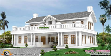 Home Parapet Designs Kerala Style by Colonial House Kerala Style Studio Design Gallery