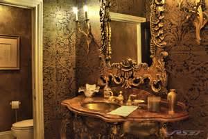 Bathroom Towels Decoration Ideas ornate gold bathroom marble