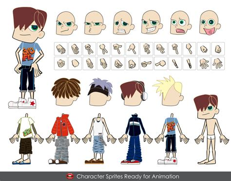 format eps et ai male vector characters ai eps formats vector free