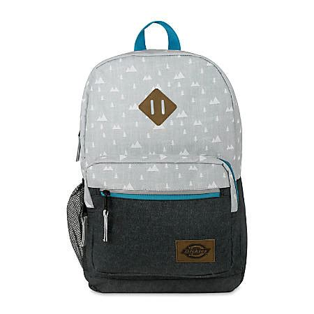 Study Dickies dickies study backpack grey by office depot officemax