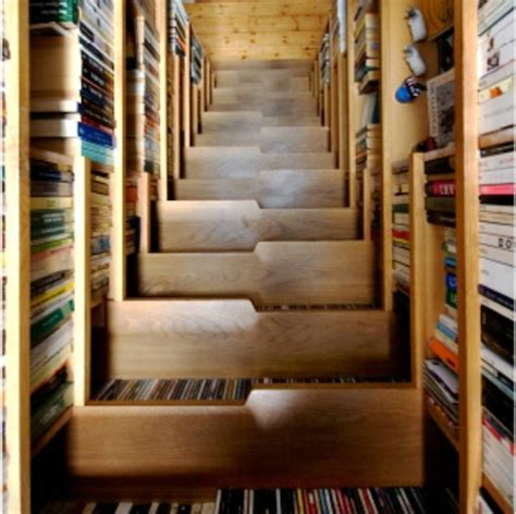 for book a staircase that doubles as a bookcase