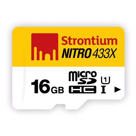 Termurah Microsd Strontium Nitro 16gb Speed 433x 65mb S strontium nitro 433x microsdhc card 16gb 65mb s class 10 uhs i キャンペーン スペシャルオファー expansys 日本