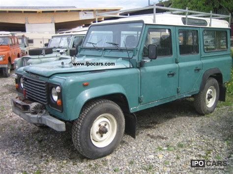 1988 land rover type 110 v8 county winch car photo and specs