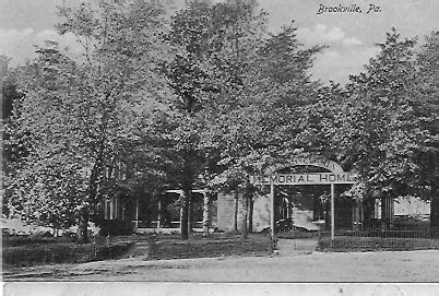 memorial home and jefferson county home brookville pa