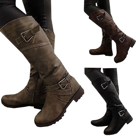 Branded Sepatu Boots Wanita Sepatu Wedges Boots Pesta Modis Grc 2018 newest boots thigh high boots brand wearing simple style mid calf boots high