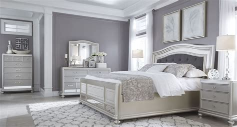 silver bedroom furniture sets coralayne silver bedroom set from ashley b650 157 54 96 17062 | b650 31 136 46 158 56 97 93 q757 6