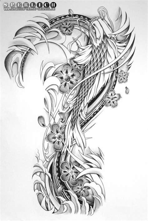 tattoo koi vorlagen kostenlos tattoo vorlage im japanischen stil sperlich tattoo leipzig