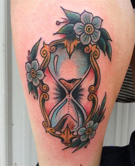 traditional hourglass tattoo 20 hourglass designs ideas design trends