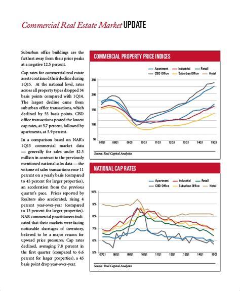 9 Real Estate Market Analysis Sles Sle Templates Real Estate Market Report Template