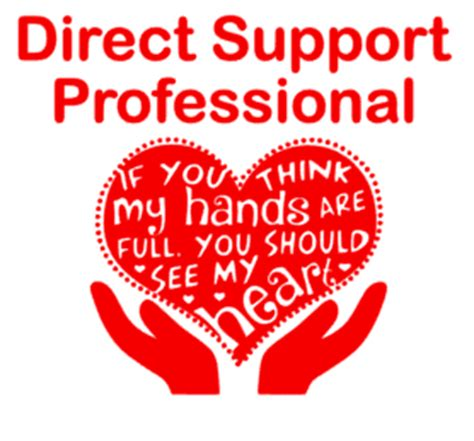 Direct Support Professional Decal   Lighthouse Creations