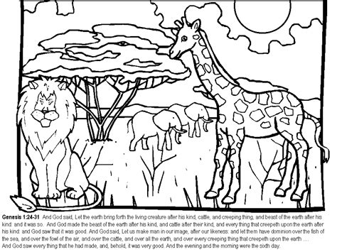 printable coloring pages for creation creation coloring pages coloring home