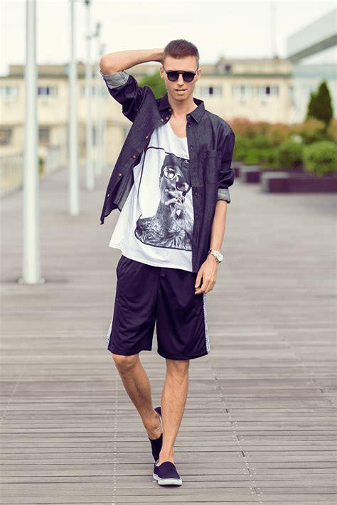 Celana Pendek Pria Print 2 fashion pria til keren dengan celana pendek bisa kok