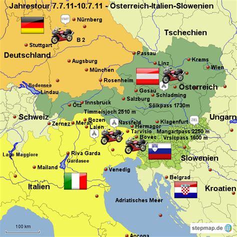 karte deutschland italien 214 sterreich italien slowenien kawamey landkarte f 252 r