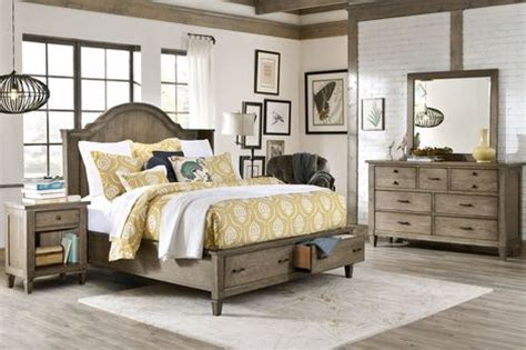 rustic distressed wood bedroom set house