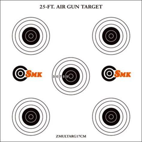 printable targets air rifle paper card targets